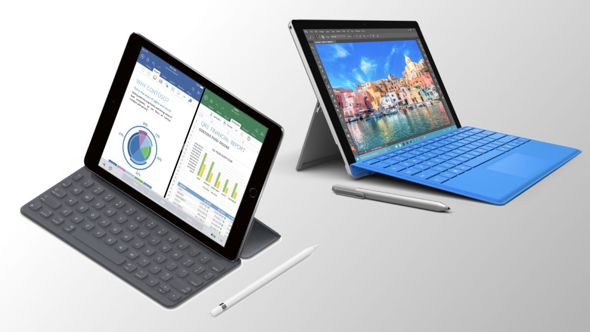 Apple was slow to catch on to the success of hybrids such as Microsoft's Surface