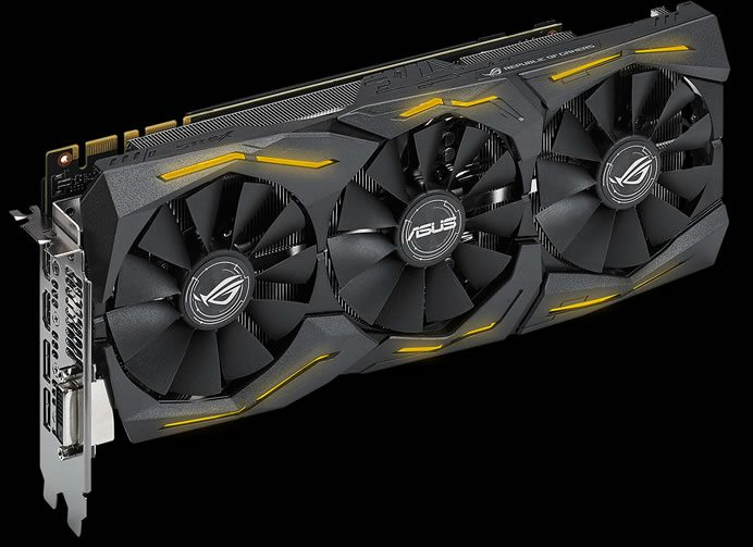 Asus_ROG Strix GeForce GTX 1080