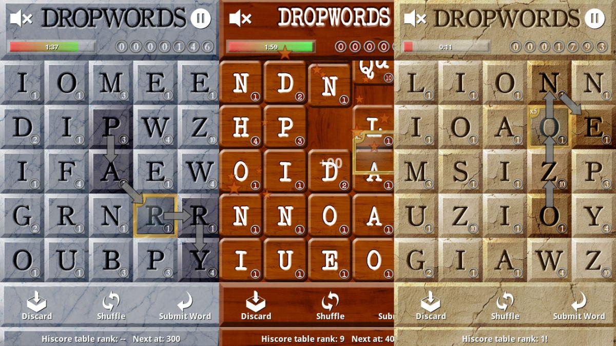 Drop Words