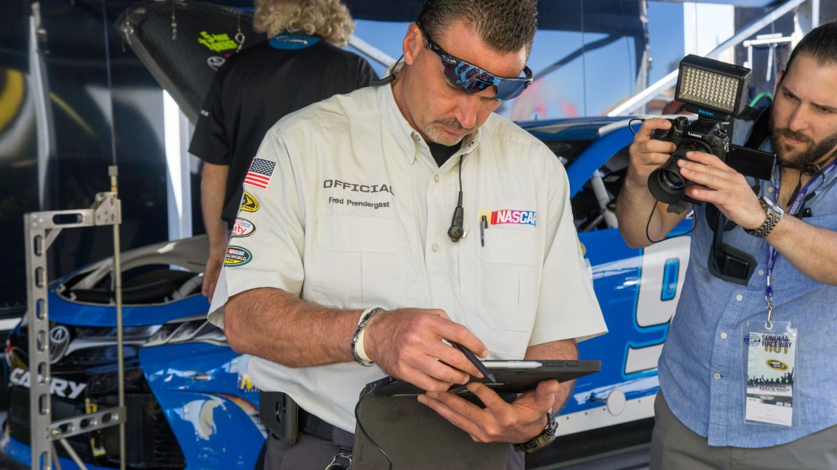 NASCAR Mobile Inspection app