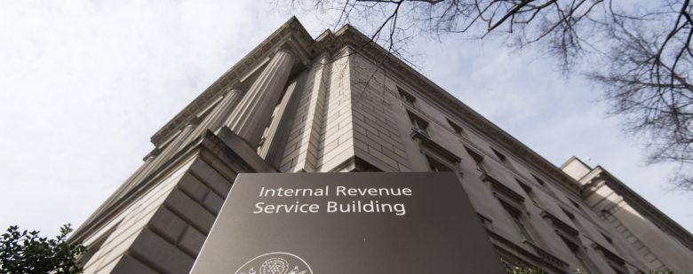 UNITED STATES - MARCH 27: Internal Revenue Service building in Washington (Photo By Bill Clark/CQ Roll Call)
